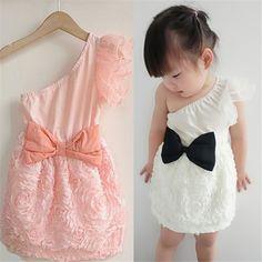 $4.75 (Buy here: https://alitems.com/g/1e8d114494ebda23ff8b16525dc3e8/?i=5&ulp=https%3A%2F%2Fwww.aliexpress.com%2Fitem%2FFree-Drop-Shipping-New-Kids-Toddlers-Girls-One-Piece-Dress-Bow-knot-One-Shoulder-Lace-1%2F1257741176.html ) New Baby Kids Toddlers Girls One Piece Dress Bow-knot One Shoulder Lace Dresses 1-7Y for just $4.75