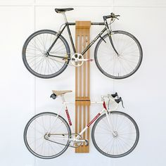 diy bicycle rack built for two home items diy bike. Black Bedroom Furniture Sets. Home Design Ideas