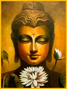 """Your letting go of it will be for your long-term happiness & benefit."""" ~ The Buddha, Samyutta Nikaya ♥ lis Religious Paintings, Indian Art Paintings, Canvas Paintings, Canvas Art, Buda Painting, Buddha Artwork, Buddha Drawing, Art Hub, Krishna Painting"""