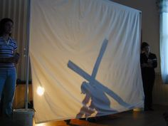 The Hill Country Hermit: Shadow Stations of the Cross - A Great CCD Activity for Lent