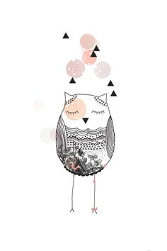 My Lovely Thing 'Kaart Owl'   My Lovely Thing   Petite Louise