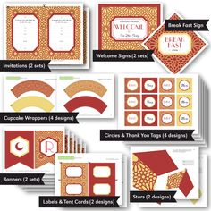 Ramadan & Eid Complete Party Printables 2013 Collection