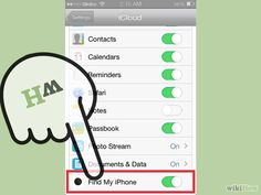 track an iphone by cell number