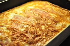 Lchf, Lasagna, Good Food, Food And Drink, Pizza, Cheese, Bacon, Cooking, Ethnic Recipes