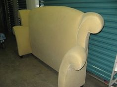 $750 WINGBACK HEADBOARD with ARMS