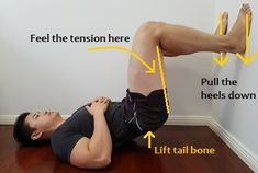 Simple and effective exercises to fix your anterior pelvic tilt. Don& let this problem be the cause of your postural pains! Scoliosis Exercises, Posture Exercises, Back Exercises, Stretches, Pelvic Tilt, Pelvic Floor, Hip Pain, Back Pain, Fitness Workouts