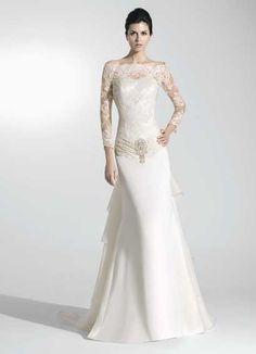 Exclusive Wedding Dress with Soft Color Style – Raimon Bundo 1