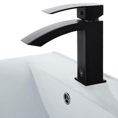 Vigo Satro Single Hole 1-Handle Bathroom Faucet in Matte Black-VG01015MB - The Home Depot