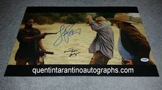 My Quentin Tarantino Autograph Collection: Jamie Foxx, Kerry Washington and Michael Parks of ...