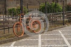 Background with a street decor - old bicycle, old bike Old Bicycle, Old Bikes, Street, Vehicles, Decor, Old Motorcycles, Decoration, Car, Decorating
