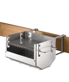 Cool space-saving bbq grill