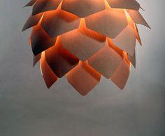 Pine Cone Pendant Lamp - zaINTERIORA.net