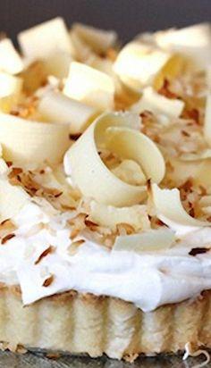 Triple Coconut Cream Pie Recipe