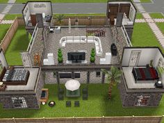 Sims Freeplay Castle With Towers Second Floor 2 Bedrooms Big Living Room