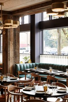 Hoxton Portland Hotel - Hoxton Portland Restaurant – Fettle work in collaboration with Ennismore to design transform a fo -