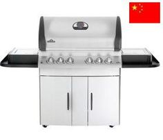 Napoleon Mirage - M605RSBIP  The Quad-HEAT™ grilling system: 1) High intensity ceramic infrared SIZZLE ZONE™ bottom burners for searing perfection and restaurant style grilling (right side). The ultra high heat, ceramic infrared burner, quickly lock in the juices for a splendid taste sensation for those perfect, juicy steaks.