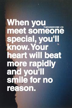 When u meet someone special