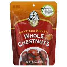 Season Roasted and Shelled Whole Chestnuts, 5.3-Ounce (Pack of 6) * Huge discounts available : Baking supplies