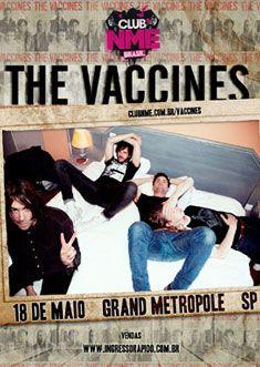 Galeria de fotos: Soundcheck do The Vaccines   Club NME Brasil