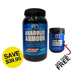 Anabolic Armour + Get Creatine Monohydrate FREE - Second To None Nutrition Best Protein Supplement, Protein Supplements, Best Supplements, Creatine Monohydrate, Muscle Up, Intense Workout, Chocolate Flavors, Recovery, Armour