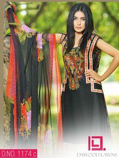 Aalishan Chiffon Lawn Vol-4 Pakistani Salwar Kameez 1174c - http://wafafashion.com/product/aalishan-chiffon-lawn-vol-4-pakistani-salwar-kameez-1174c/