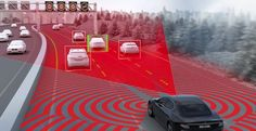 The adaption of car mounted cameras may serve an even greater purpose than once thought. An idea has arisen that would use the cameras on cars in accordance with lasers to create a radar system while driving. This radar may provide for assured buffers between vehicles and potentially guide the way for self-driving cars.