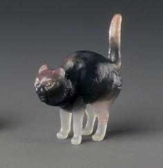 Cat Maker: Workshop of Peter Carl Faberge, 1846-1920 Medium: Agate, diamonds Dates: 1886- 1917
