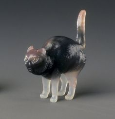 Cat Maker: Workshop of Peter Carl Faberge, 1846-1920 Medium: Agate, diamonds Dates: 1886- 1917