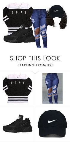 """""""Exchange Bryson Tiller"""" by beautyqueen-927 ❤ liked on Polyvore featuring NIKE and Nike Golf"""