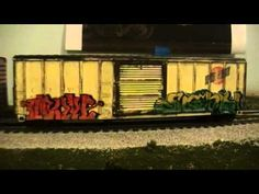 Weathered Boxcars - YouTube