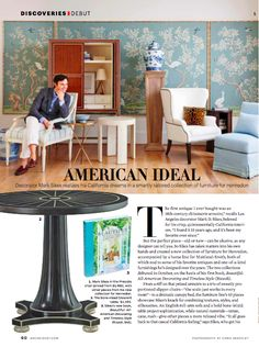 AMERICAN IDEAL - Mark D. Sikes: Chic People, Glamorous Places, Stylish Things
