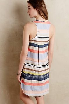 Mixed Stripe Tunic - anthropologie.com #stripe#pattern