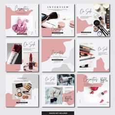 Instagram Design, Layout Do Instagram, Instagram Banner, Instagram Post Template, Banner Social Media, Social Media Template, Social Media Design, Feeds Instagram, Instagram Grid