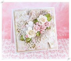 Romantic Shabby Chic Card & Video Tutorial | Wild Orchid Crafts | Bloglovin'