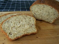 Healthy banana bread, made with applesauce!