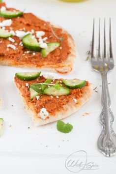 94 best muslim food bloggers halal food recipes images on quick and easy refreshing middle eastern pizza no cook no bake deliciousness forumfinder Images