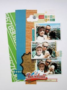 Scrapbook Circle layout by Diana Fisher.