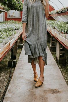 Greta Midi Dress | R