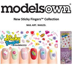 Brit Nails: New Sticky Fingers Collection from Models Own - Sneak Peek!