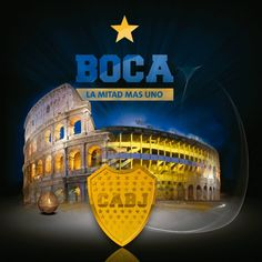 "Coliseo Boca Juniors, La Bombonera, ""Colosseo bostero"" Messi, World Library, Camp Nou, Walking Alone, Porsche Logo, Dragon Ball Z, Rock And Roll, Soccer, Football"