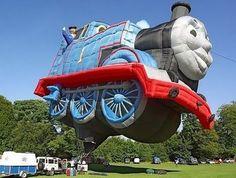 Collection of cool modern hot air balloons and creative giant balloon designs from all over the world. Darth Vader Hot Air Balloon Cool D. Balloon Rides, The Balloon, Hot Air Balloon, Balloon Shapes, Expo 67 Montreal, Air Balloon Festival, Choo Choo Train, Air Ballon, Helium Balloons