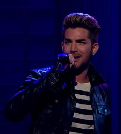 Adam Lambert on The Late Late Show performing 'Ghost Town'