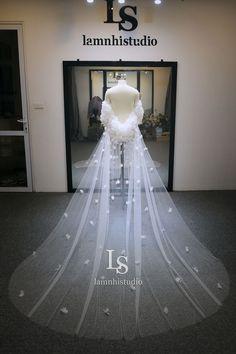 Wedding Cape, Wedding Veil, Ball Gowns, Bridal, Formal Dresses, Fashion, Ballroom Gowns, Dresses For Formal, Moda