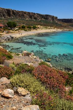 Gramvousa Beach - Crete, Greece - While the beach IS fantastic, most visitors come for the hike up to the old Venetian Fort that overlooks it!