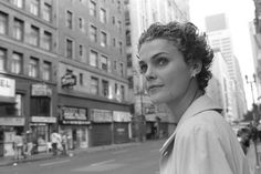Keri Russell, short, curly hair. That is quite short!