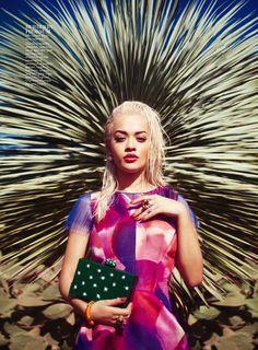 Rita Ora Is A Wild Child In 'InStyle' Magazine's March 2015 Issue