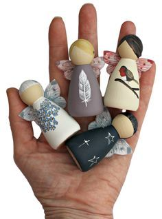 fairy peg dolls   Fairy Peg Doll   Bereavement Gifts   Sympathy Gifts   Fairy ...