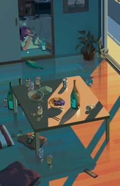 Charming, Quiet Illustrated GIFs With Perfectly Subtle Animation | Jeannie Huang