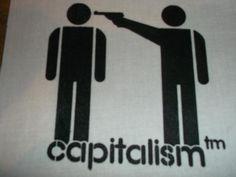 CAPITALISM-Aufnäher-Patch #Patch #Aufnäher