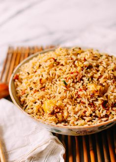 Chengdu-Style Sichuan Fried Rice is salty, toasted at the edges of every grain, and packed with salty, delicious bits of Jinhua ham, sui mi ya cai, and egg
